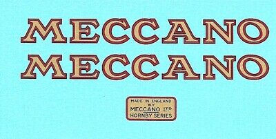 Hornby O Gauge Tipping Wagons | Meccano | Waterslide Transfer Decal • 4.44€