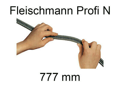 Rail Flexible 777 Mm Voie Profi N - FLEISCHMANN 9106 • 12.90€