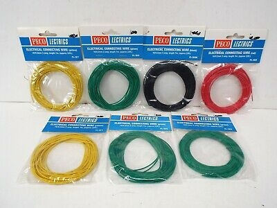 Peco Electrics Job Lot Of 16/0.2mm 3amp Wire All Colours Mip  (k375) • 43.73€