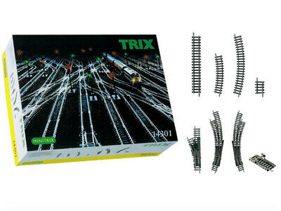 Coffret D'extension De Voies Minitrix - N 1/160 - Trix 14301 • 119.90€