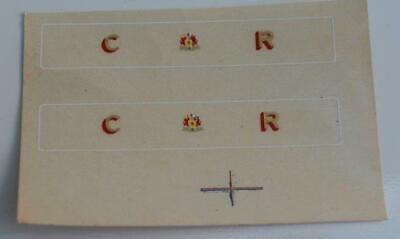 Tta Genuine / Original Triang Hornby Factory Tender Decals For Caledonian • 2.25€