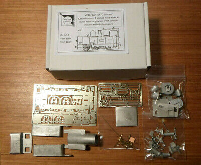 W&L Earl Or Countess All Metal Locomotive Kit, Inc. Etched Chassis Fret. New • 90.86€