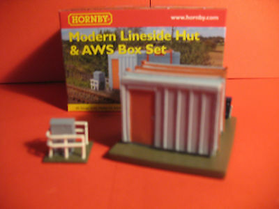 Hornby Skaledale R8675  Modern Line Side Building & AWS Box  Set     00  Scale • 12.37€