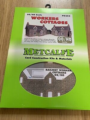 Metcalfe PO255 Workers Cottages (OO Gauge) - Now Discontinued. • 8.55€