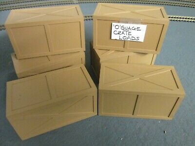 Model Packing Cases/crates/wagon Loads/cargo 0-Gauge • 11.05€