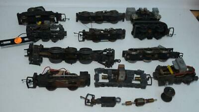 Mrr = Triang Hornby Etc - Quantity Of Loco Chassis / Motor Bogies / Parts Etc • 11.11€
