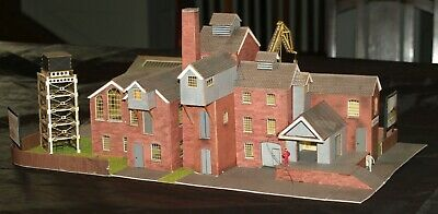 BREWERY BUILDINGS FOR 00Gauge Layout • 48.92€