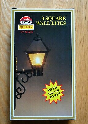 LGB 995 (Model Power) G Scale Square Wall Lights. Box Of 3. BNIB • 10.92€