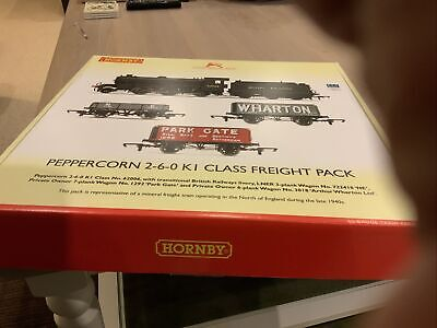 Hornby R3671 Peppercorn 2-6-0 K1 Class Freight Train Pack Brand New Boxed Point. • 151.85€