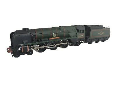 HORNBY DUBLO 2-Rail West Country Class Loco & Tender 'Dorchester' For Running • 44.99€