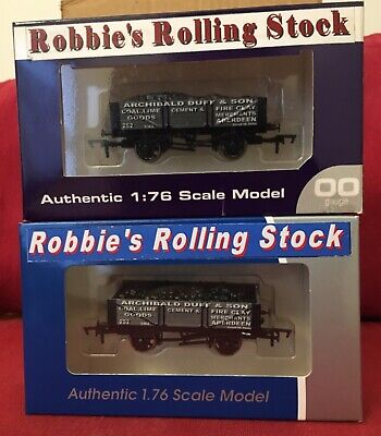 Dapol Railway Products Robbie's Rolling StockOO Gauge 2 X Wagons New Never Used. • 16.88€