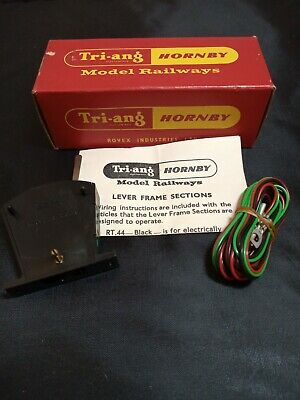 Triang Hornby Railways RT.44 Lever Frame Section Leads/Instruct Boxed Unused Lt1 • 1.91€