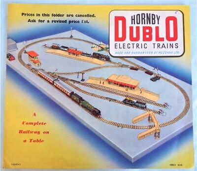 Hornby Dublo Catalogue For 1955/56 In Good Condition • 5.66€