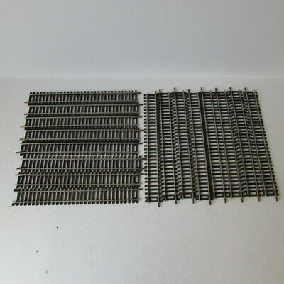 Lima N Gauge Track N/3020 Straight Track X 22 Pieces, In Good Used Condition • 4.57€