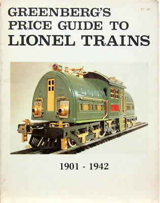 1901-1942 Greenberg's Price Guide To Lionel Trains  • 50€