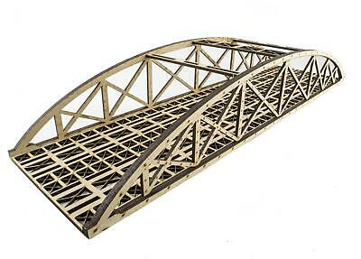 WWS Double MDF High Detail Bowstring Bridge Choose Length –OO/HO Model Railway • 18.53€