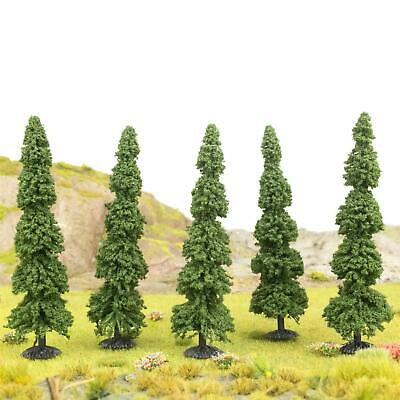 WWS Pine Tree 100mm Dark Green (Choose Quantity) - OO Gauge Scenery Wargame • 39.30€