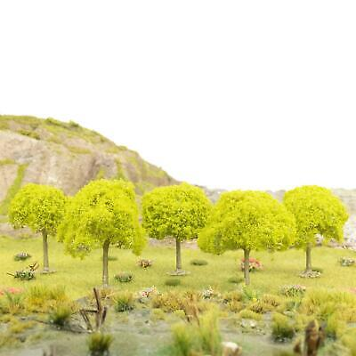 WWS Fruit Tree No Fruit 55mm (Choose Quantity) - OO Gauge Scenery Wargame • 39.54€