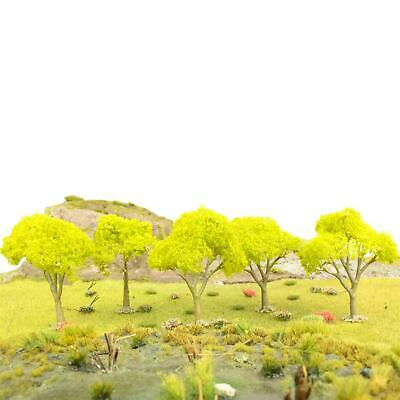 WWS Fruit Tree No Fruit 80mm Light Green (Choose Quantity) - OO Gauge Scenery • 39.54€