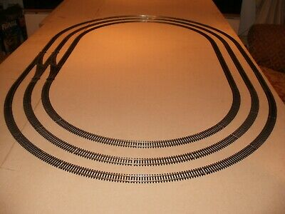 Triple Oval Of Nickel Silver Track  Suit Trainset/Model Railway Layout • 83.79€