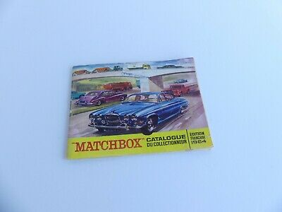 Matchbox Catalogue De Poche 1964  • 35€