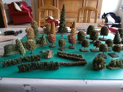 OO Gauge Trees And Hedges  Over 30 Items • 52.48€
