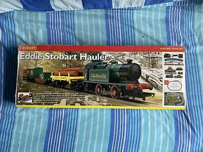 Hornby Eddie Stobart Hauler Electronic Train Set Collectible Used • 94.53€
