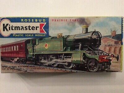 Kitmaster OO/HO British Railways (Western Region) Prairie Tank Locomotive #No7 • 16.88€
