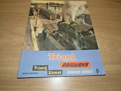 Triang Railways Catalogue 9th Edition Vgc Includes Tri-ang Lionel Science Series • 5.66€