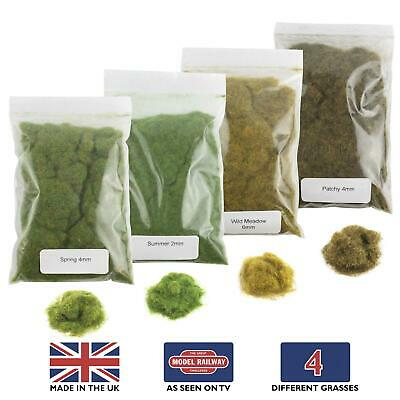 WWS Static Grass Starter Kit 1 – Model Railway Wargame Scenery Terrain Diorama • 11.22€