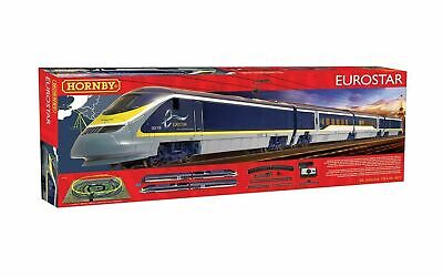 Hornby R1176 Schnellzuglokomotive Set Eurostar Electric Train 373 DCC Ready NEW • 179.75€