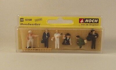Ouvriers - Noch - Personnages HO • 9€