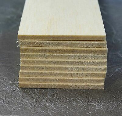 WWS Balsa Wood Sheets 75 X 305 X 5 Mm (3 X 12 X 3/16 Inch) - 9 Pack – Model • 9.44€