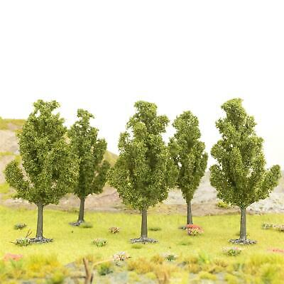WWS Tall Yew Tree 100mm (Choose Quantity) - OO Gauge Scenery Wargame • 50.84€