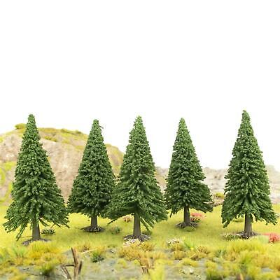 WWS Christmas Pine Tree 93mm (Choose Quantity) - OO Gauge Scenery Wargame • 25.43€