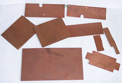 Copper Clad PCB Boards - 5+ Pieces - Useful - (models & Others) – Notes / Pics E • 5.55€