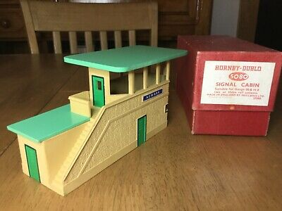 Hornby Dublo 5080 Signal Cabin Newark With Green Roof Boxed Near Mint • 101.69€
