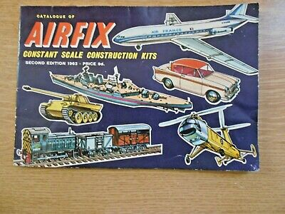 Vintage Airfix Catalogue 1963 2nd Ed With Price List • 17.99€