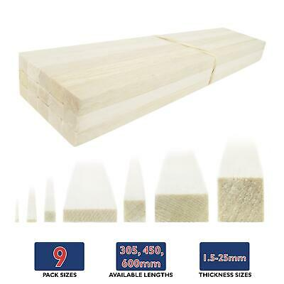 WWS Balsa Wood Strips (Choose Size & Quantity) – Modelling • 33.05€