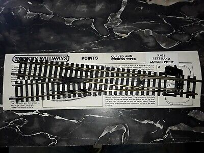 Hornby R623 Left Hand Express Point  • 11.19€