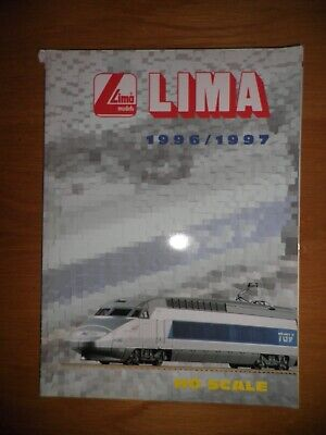 CATALOGUE TRAIN LIMA 1996 162 Pages  • 14€