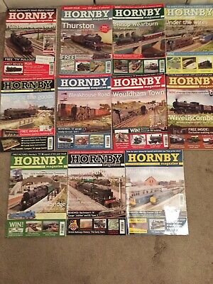 Hornby Magazines 11 Issues 2008 • 38.60€