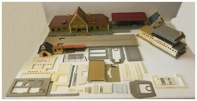 Lot De Maquette Batiment HO Jouef Pour Train ( Poste Aiguillage, Gare, Quai Etc) • 19.99€