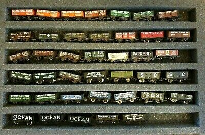 N Gauge 40 X Private Owner Open Mineral Type Wagons Job Lot Farish & Peco VGC • 69.75€