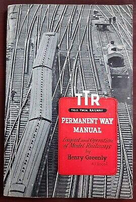 TTR/Trix Twin Railways Permanent Way Manual - Henry Greenly 1951 • 16.86€