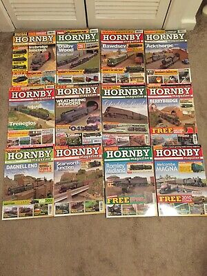 Hornby Magazines 12 Issues 2010 • 50.26€