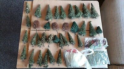 OO Gauge Trees Scatter Material Lichen Job Lot • 16.85€