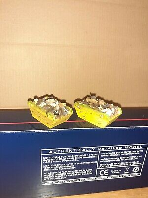 ** Bachmann Large Skips Loaded With Rubbish 2 Pcs  00 Scale • 7.86€