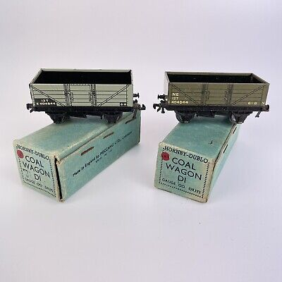 Pair Of Vintage Boxed Hornby Dublo Coal Wagons D1 DR372 • 42.93€
