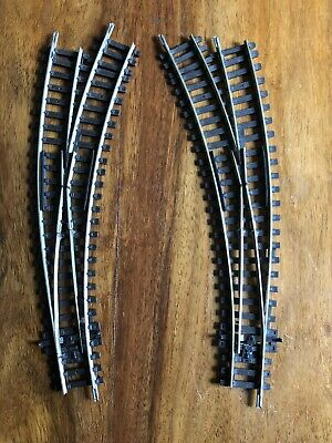 Peco Curved Track Points 00 Gauge Code 100 X 2 • 17.34€